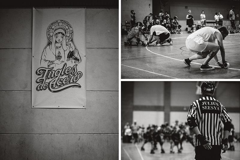 Sebastià Pagarolas - Barcelona Roller Derby - Ingles de Acero - fotografía deportiva - wftda - bout - jammer - blocker - fotógrafo deportes